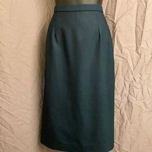 Pendleton wool skirt